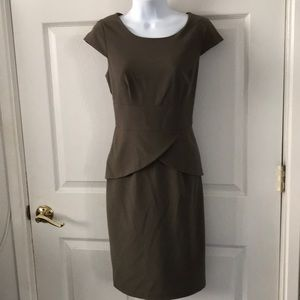 Calvin Klein Moss Green Sleeveless Dress